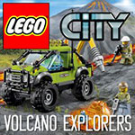 Lego My City 2 Volcano Explorers