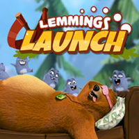 Lemmings Launch: Grizzy and The Lemmings