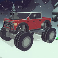 3D Monster Trucks IcyRoads