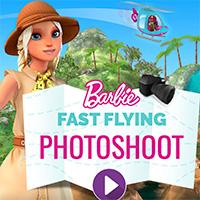 Barbie Fast Flying Photoshoot