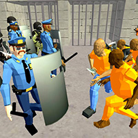 Battle Simulator: Prison and Police
