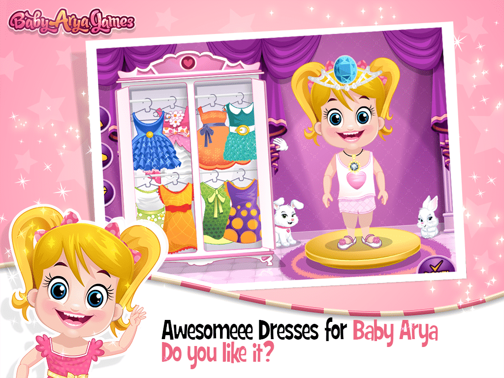 Baby Arya Party Dress Up
