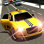 Crazy Taxi Car Simulation