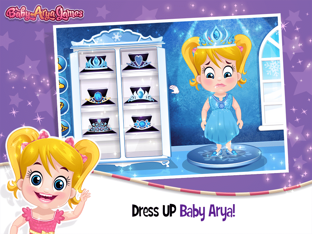 Frozen Baby Arya Care