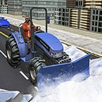 Grand Snow Clean Road Driving Simulator
