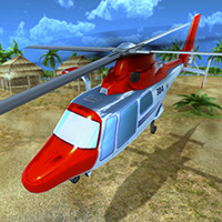 Helicopter Rescue Flying