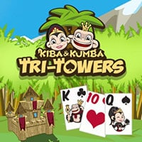 Kiba and Kumba Tri Towers Solitaire
