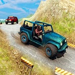 Mountain Climb Passenger Jeep Simulator