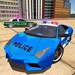Police Drift Car Driving Stunt