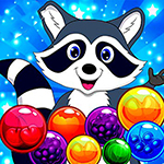 Raccoon Bubble Shooter