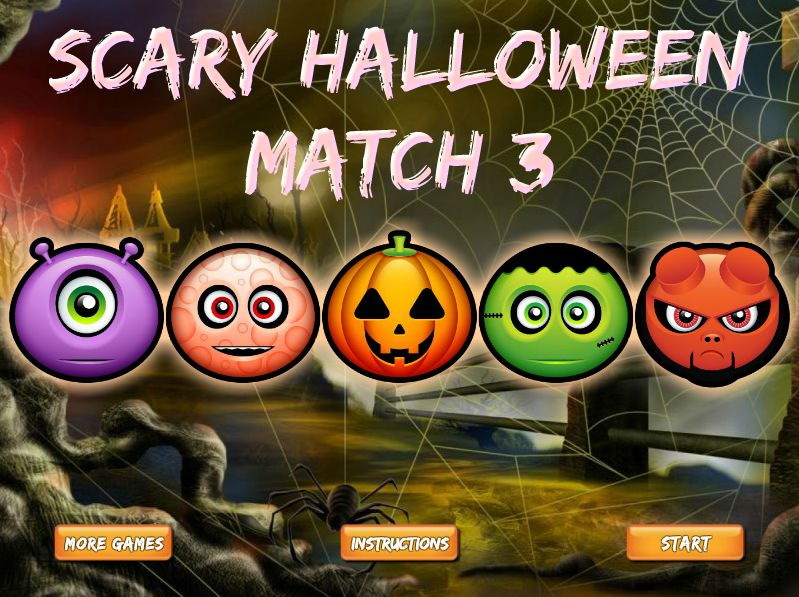 Scary Halloween Match 3